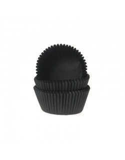 BAKING CUPS BLACK 50X32