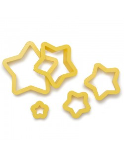 5 STAR COOKIE CUTTERS