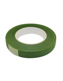 PAPER FLORIST TAPE GREEN 12MM 27 M