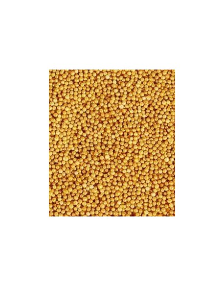 GOLD MINI SUGAR PEARLS KG