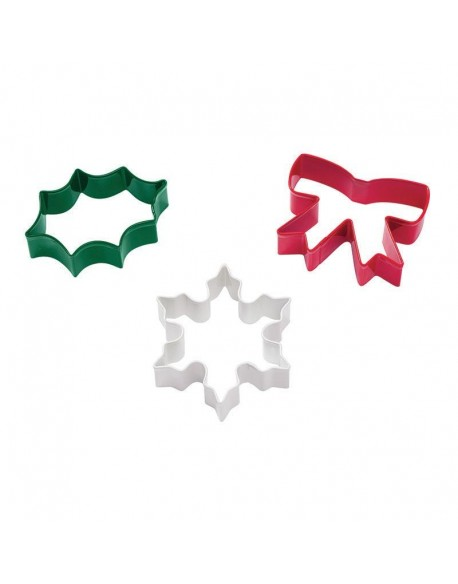 CHRISTMAS CUTTER 3PC SET