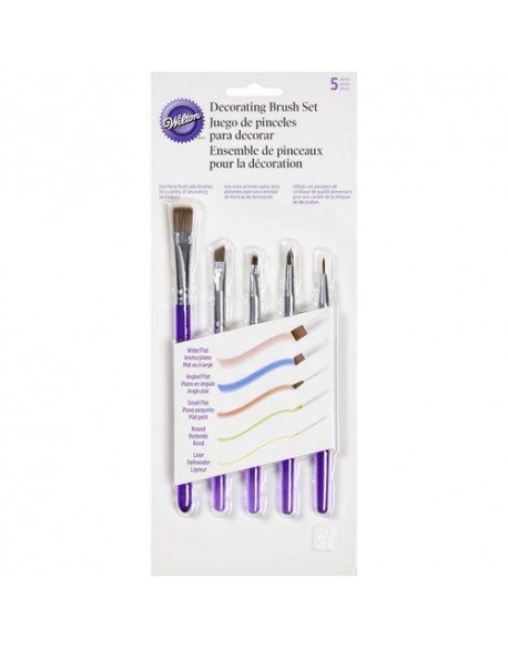 SET 5 DUSTING BRUSHES (PICEIS)
