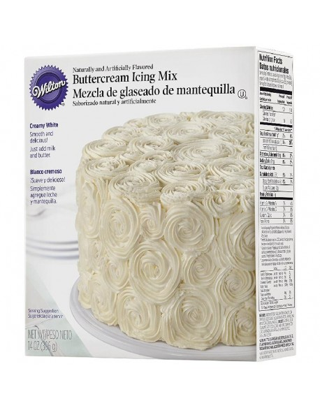 BUTTERCREAM ICING MIX 396 G